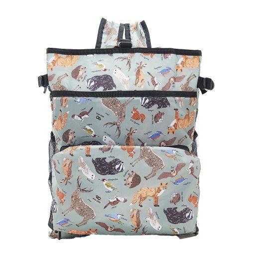 Eco Chic - Backpack Cooler (rugzak koeltas) - J01OE - Olive Woodland