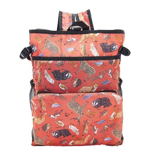 Eco Chic - Backpack Cooler (rugzak koeltas) - J01RD - Red Woodland
