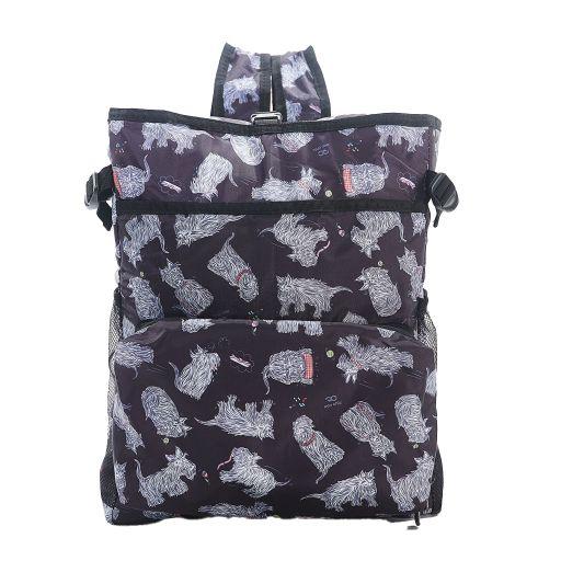 Eco Chic - Backpack Cooler (rugzak koeltas) - J02BK - Black Scatty Scotty