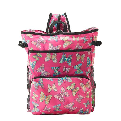 Eco Chic - Backpack Cooler (rugzak koeltas) - J05FA - Fuchsia Butterfly