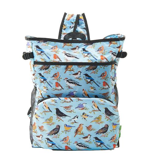 Eco Chic - Backpack Cooler (rugzak koeltas) - J06BU - Blue Wild Birds