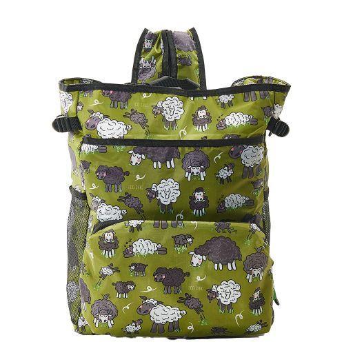 Eco Chic - Backpack Cooler (rugzak koeltas) - J09GN - Green Sheep